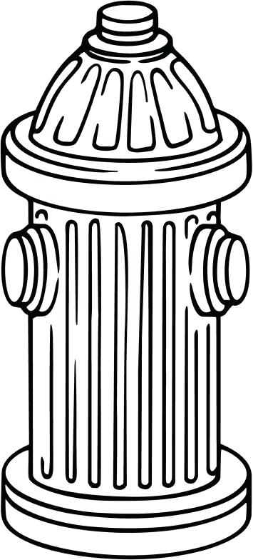 Fire hydrant clipart black and white 3 » Clipart Station.