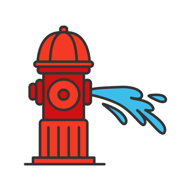 Best Fire Hydrant Illustrations, Royalty.