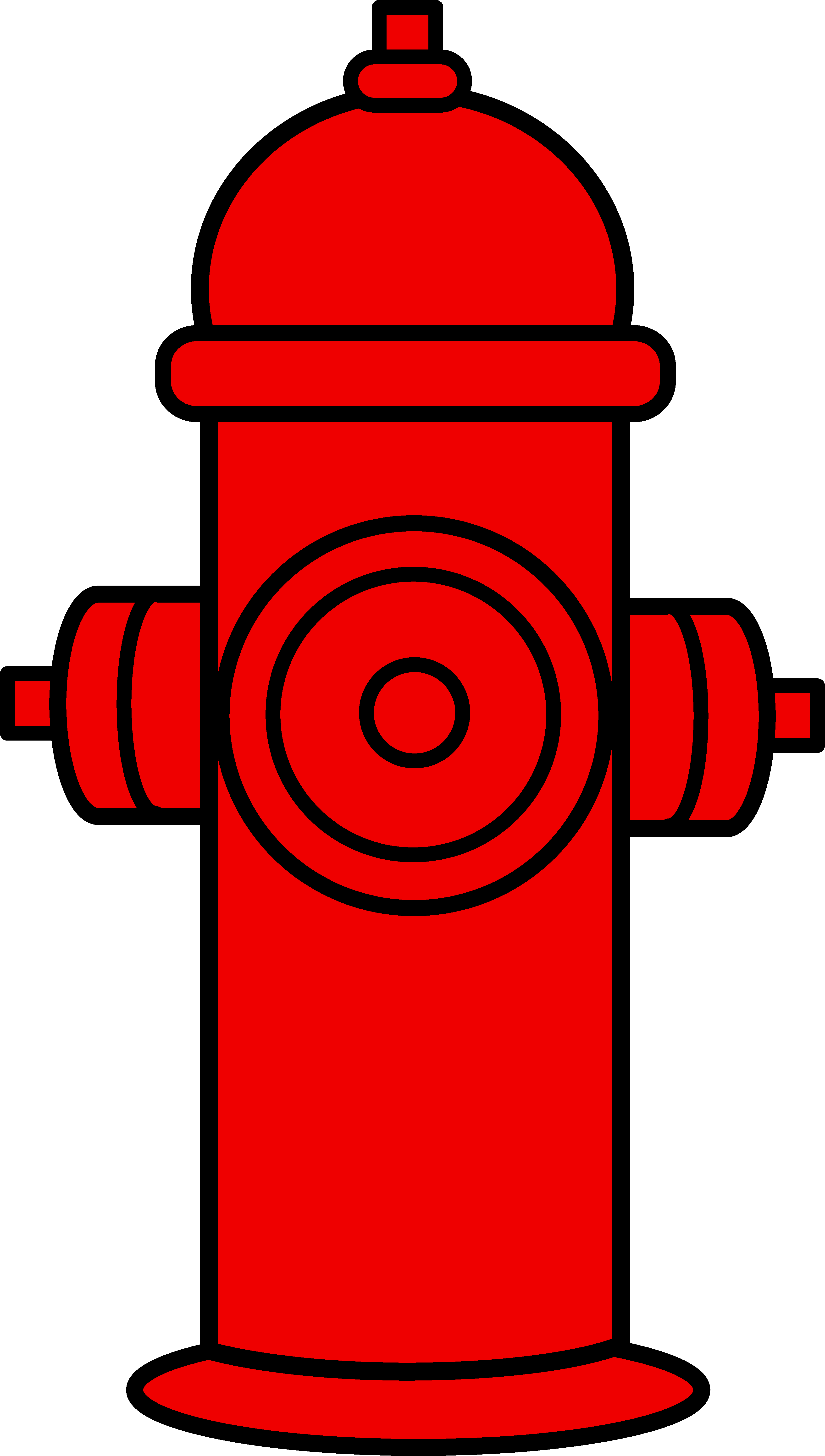 Red Fire Hydrant Clipart.