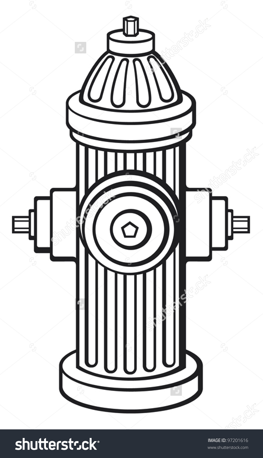 Fire Hydrant Image Clipart.