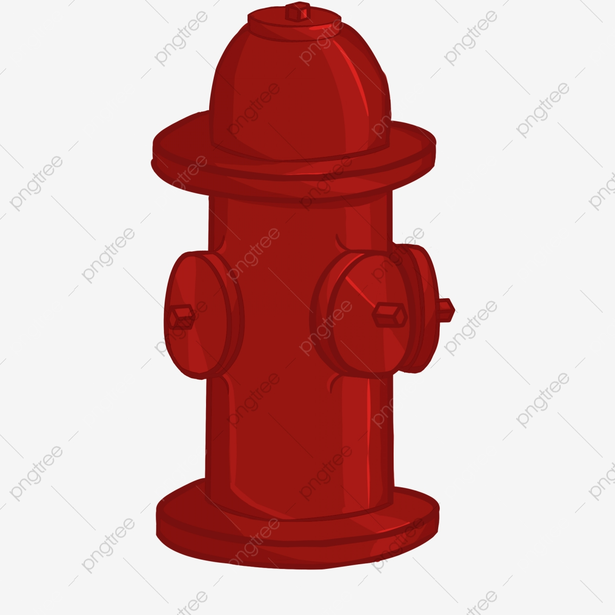Red Fire Hydrant, Red, Fire Hydrant, Safety PNG Transparent Clipart.
