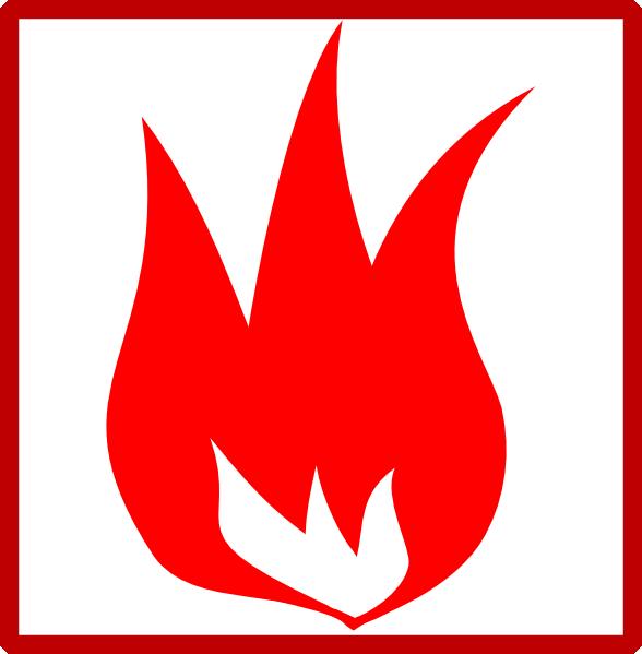 Fire Icon Clip Art at Clker.com.