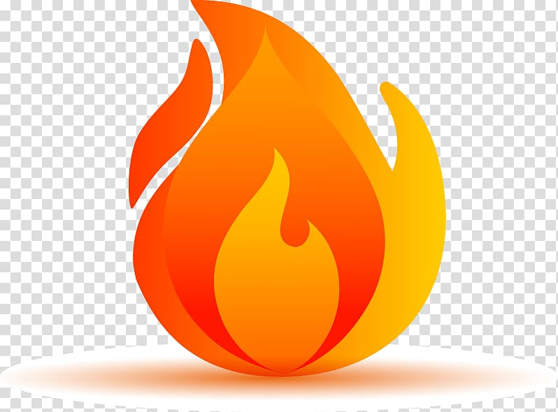Fire illustration, Fire Icon, Cartoon flame elements.