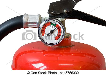 Stock Photography of fire extinguisher.