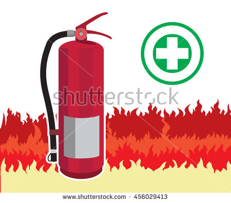 Fire Extinguisher Stock Photos, Royalty.