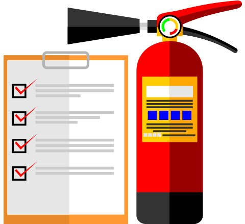 Has your commercial fire extinguisher been serviced lately?.