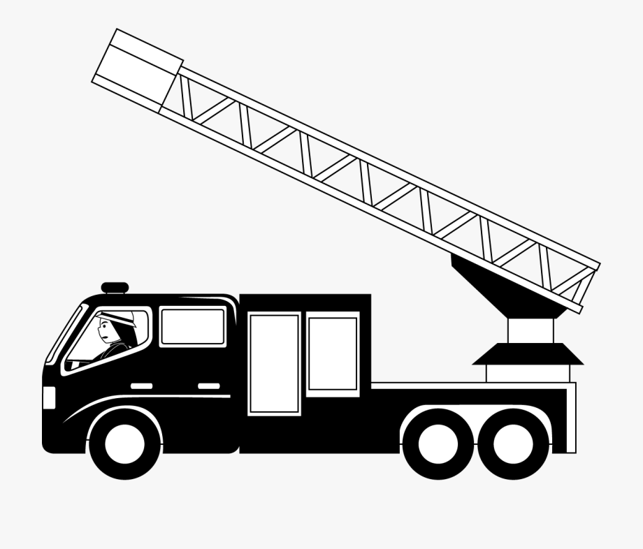 Fire Ladder Clipart.