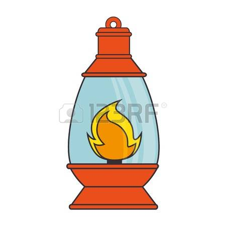 6509 Fire Lamp Stock Vector Illustration And Royalty Free
