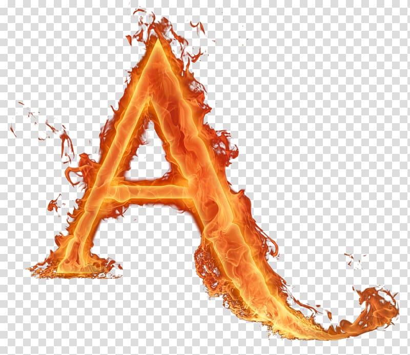 Red letter a illustration, Letter Fire Alphabet Light, fire.