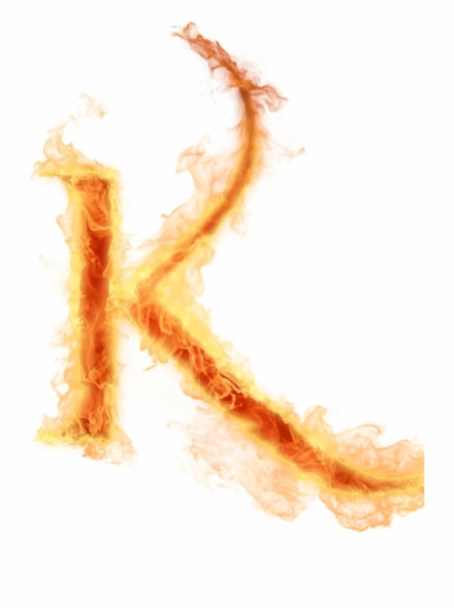 K Alphabet Png Fire Letters Az Png.