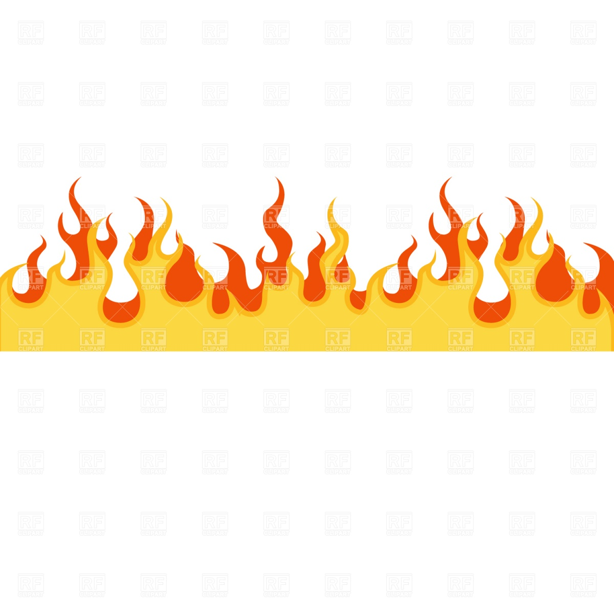 Line of fire clipart.