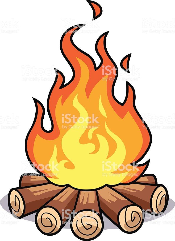 Fire Log Clipart.