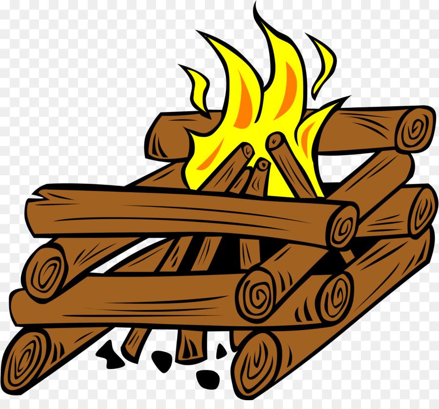 Campfire Cartoon clipart.
