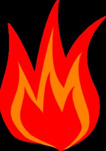 Red Fire Logo Clip Art at Clker.com.