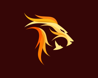 lion fire Designed by spayro.