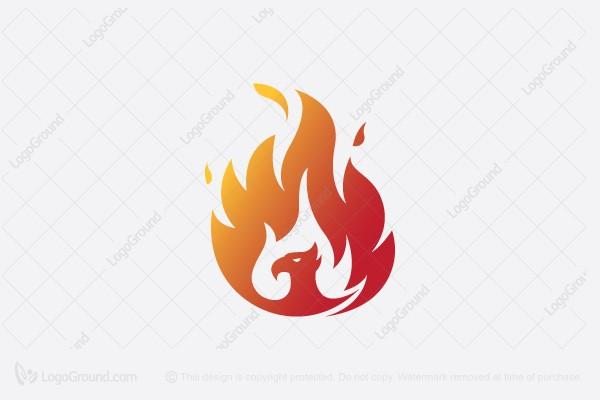 Exclusive Logo 160653, Phoenix Fire Logo.