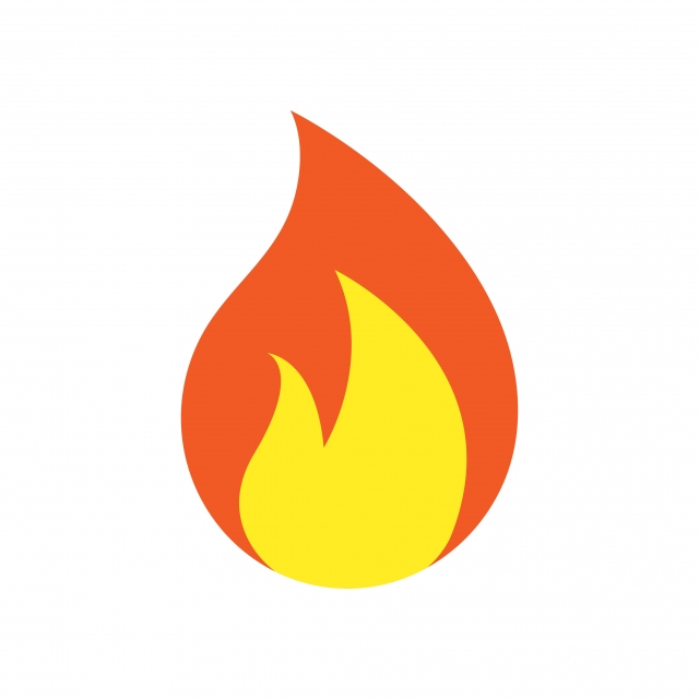 Fire Logo Icon Design Template Vector, Flame, Fire, Icon PNG and.