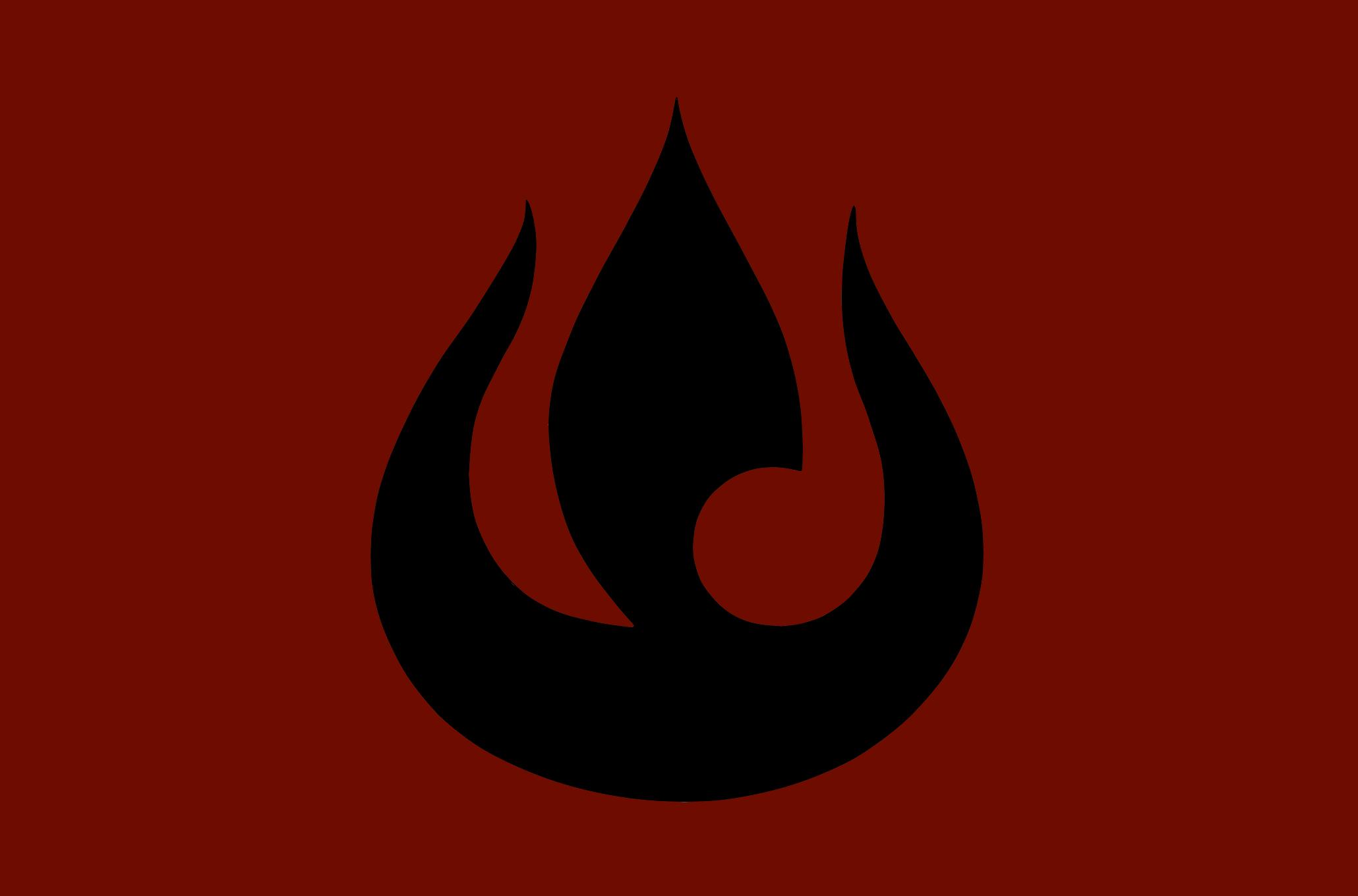 Fire Nation Symbol.