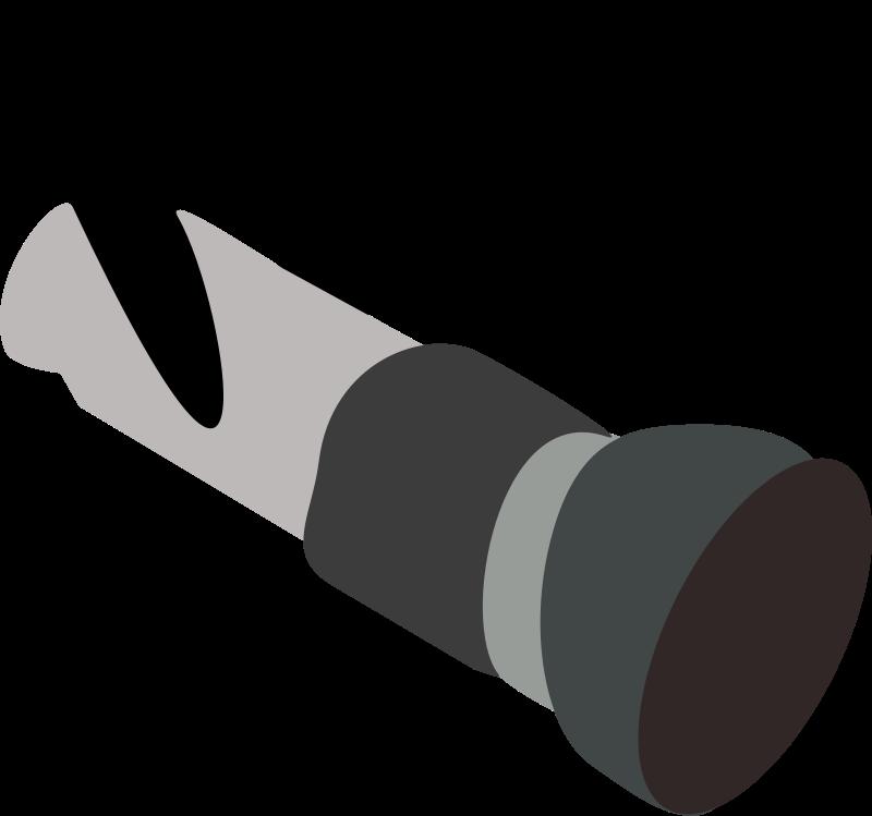 Free Clipart: Fire Hose Nozzle.