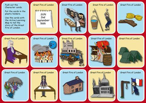 KS1: History: Great Fire of London.