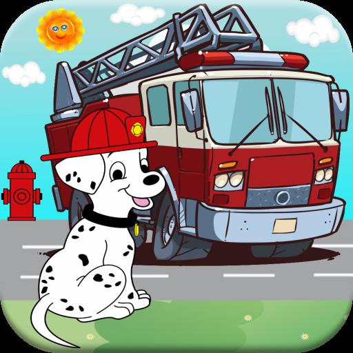 Fire Truck Sounds & Games For Kids Free : Fire Truck Siren & 7.