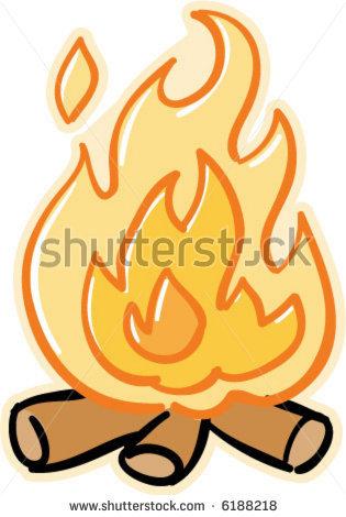 Cartoon Fire Pit Drawing, Cartoon Fireplace Flames Clipart Panda.