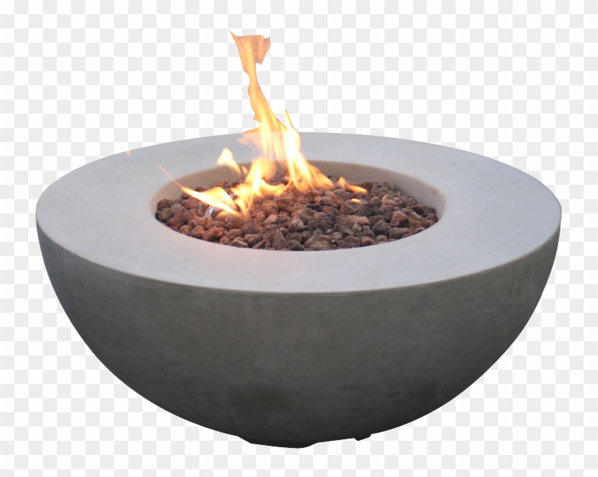 Concrete Bowl Fire Pit Outdoor Spaces, Outdoor Living,.