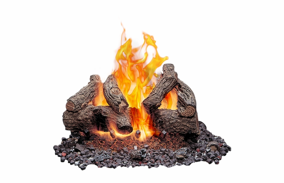 Outdoor Vented Gas Logs.