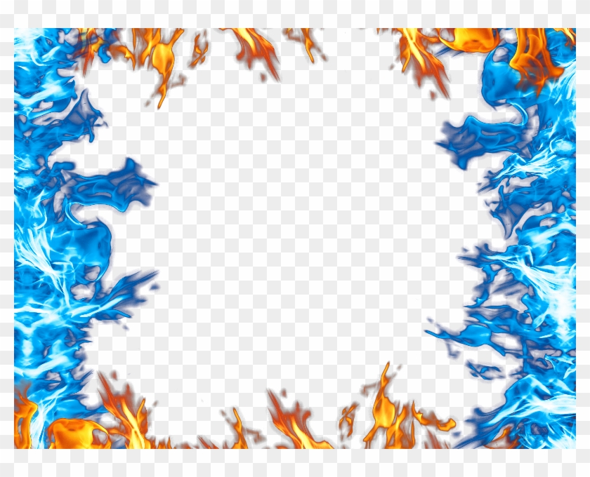 Burning Fire Png Background.