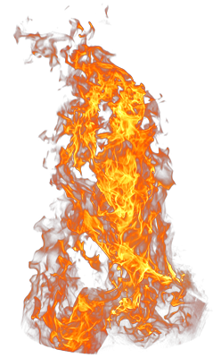 Fire PNG Images, Flames Clipart.