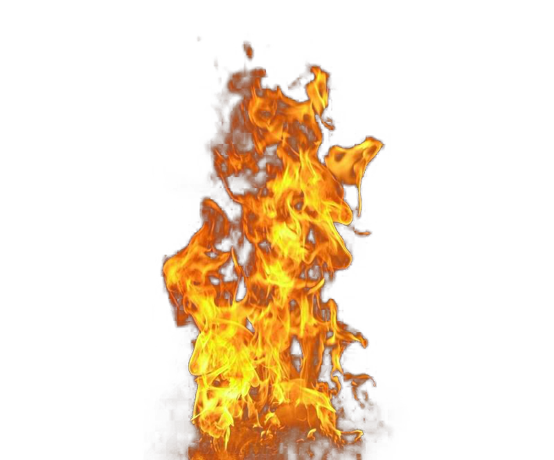 Fire Flames PNG Transparent Images.