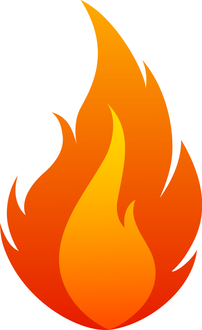 HD Flame, Fire 02 Png.
