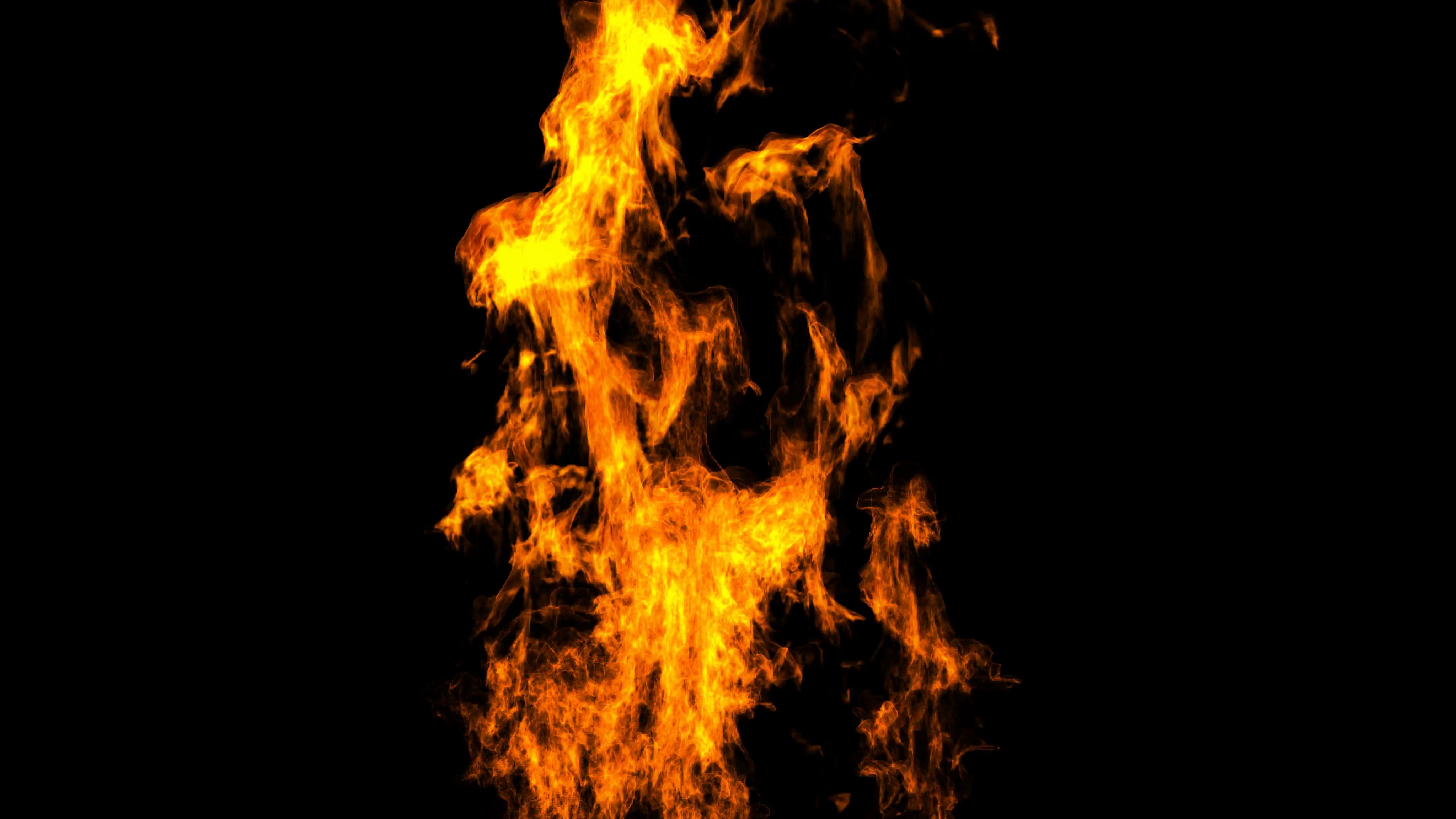 rendered in PNG with alpha high detailed fire Motion Background.