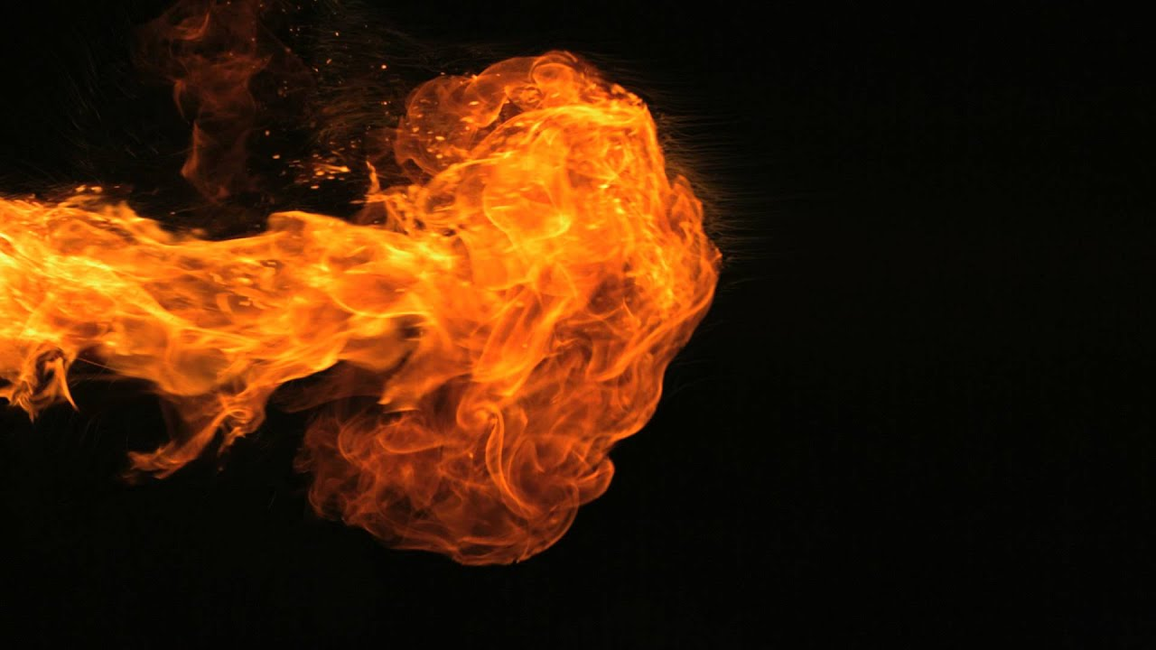 Slow Motion Fire HD and Flames Camera Video Footage Effects Shot in Slow Mo  High Definition Format.