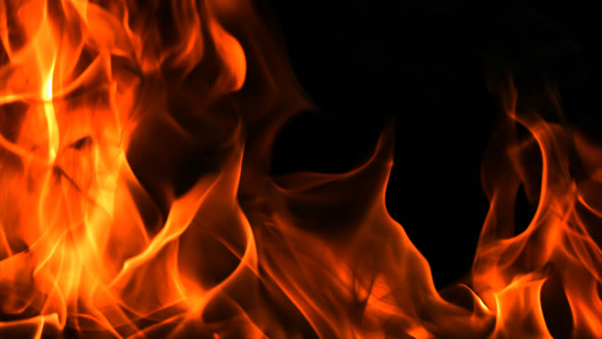 Alpha Channel Flames and Fire Stock Footage Video (100% Royalty.