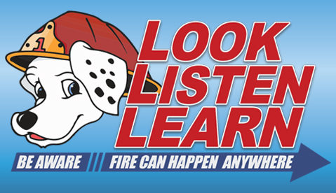 The New Theme for Fire Prevention Week 2018: Look. Listen. Learn.