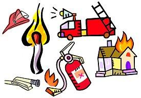 Fire protection clipart #8