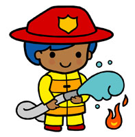 Fire Safety Clipart.