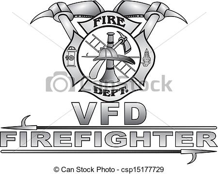 Maltese Fire Cross Vector.