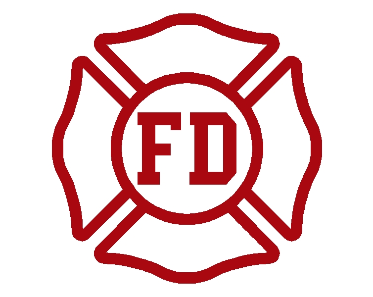 Fire Department Maltese Cross Clip Art N28 free image.