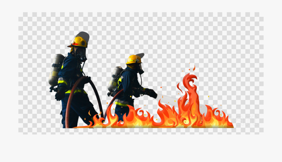 Firefighter Clipart Fire.