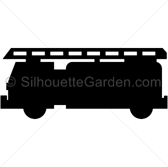 Fire truck silhouette clip art. Download free versions of the.
