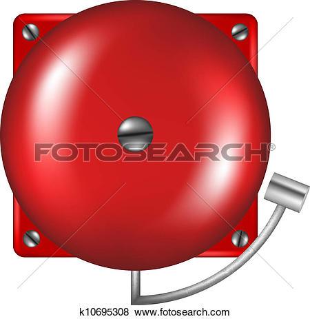 Stock Photo of Fire alarm siren on wall k15951612.