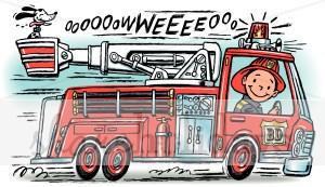 Fire truck siren clip art.