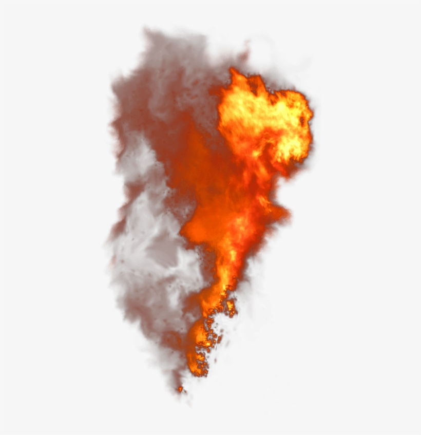 Clipart Flames Smoke.