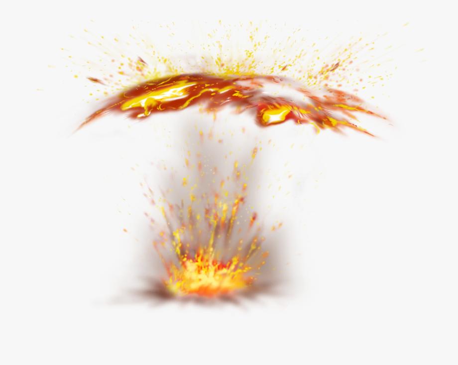 Explosion Vector Fire Spark.
