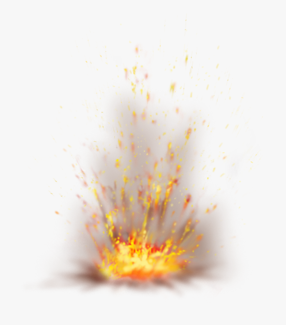 Flames Clipart Fire Spark.