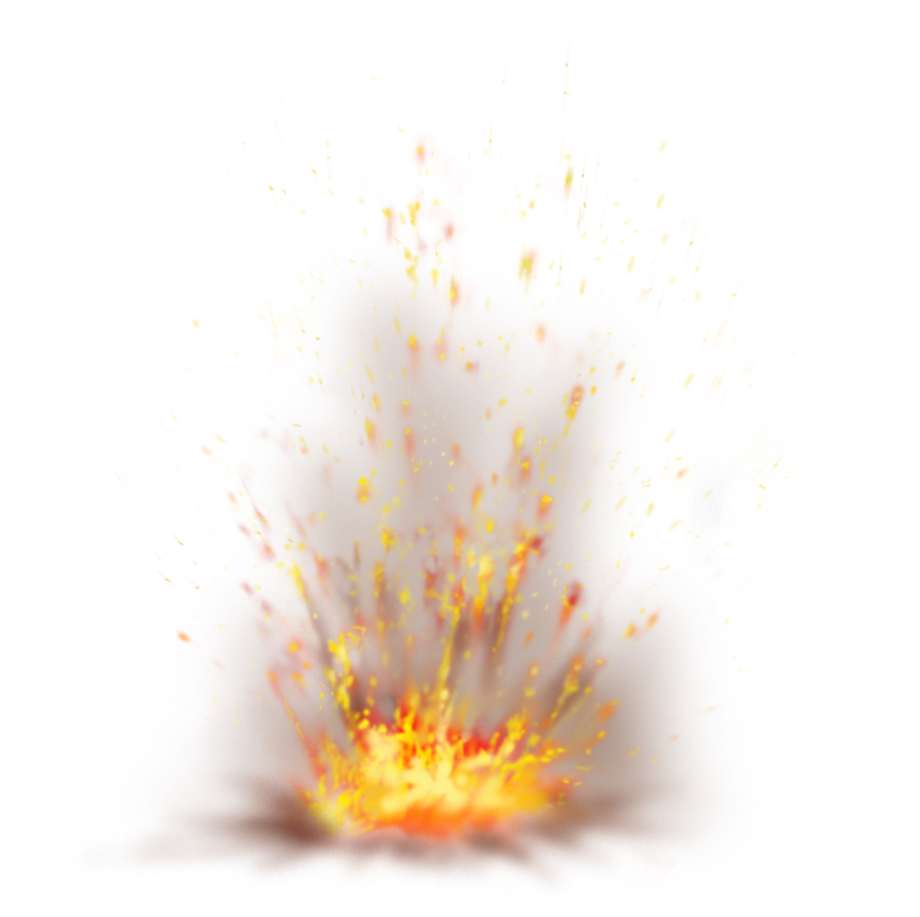 Fire Sparks Clipart.