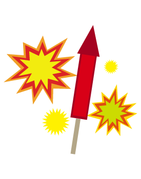 Fire work sparks png clipart.