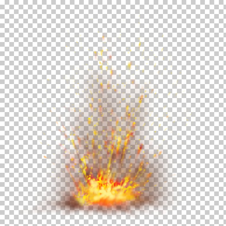 Explosion Spark, Firefox with Sparks , lava splash PNG.